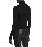 A.L.C. Desi Turtleneck Rib Top