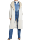 A.L.C. Stanley Sherpa Patchwork Coat