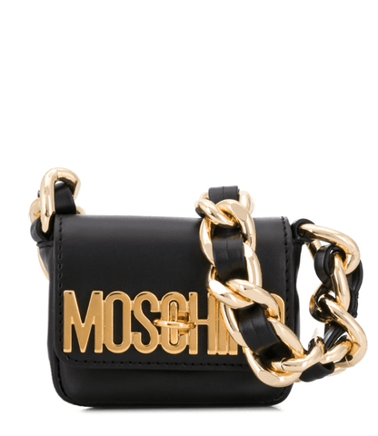 Moschino Logo-Lettering Mini Bag