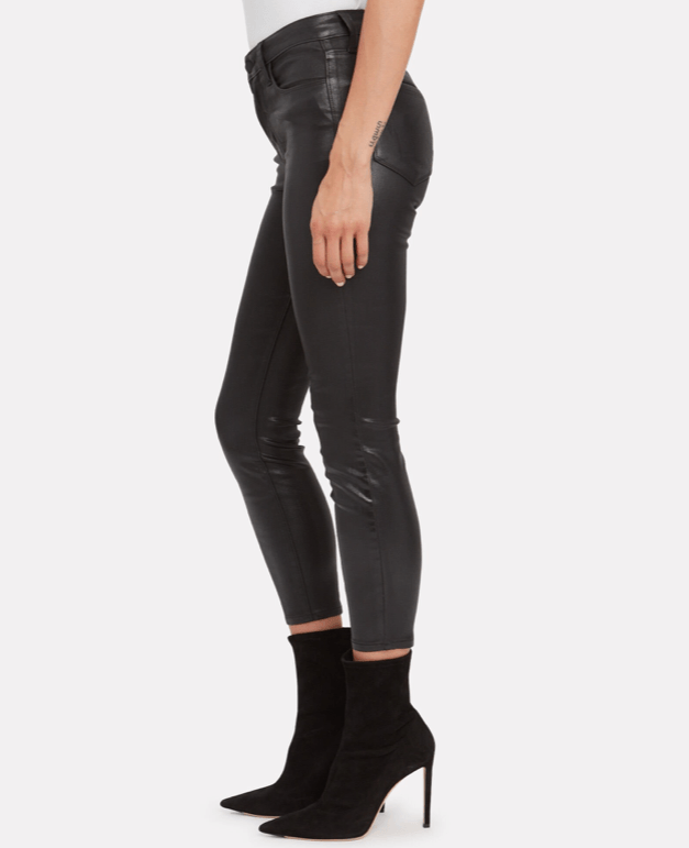 L'Agence Adelaide Skinny Leather Pants