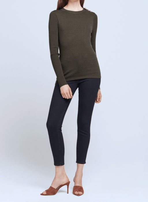 L'Agence Erica Pullover Sweater