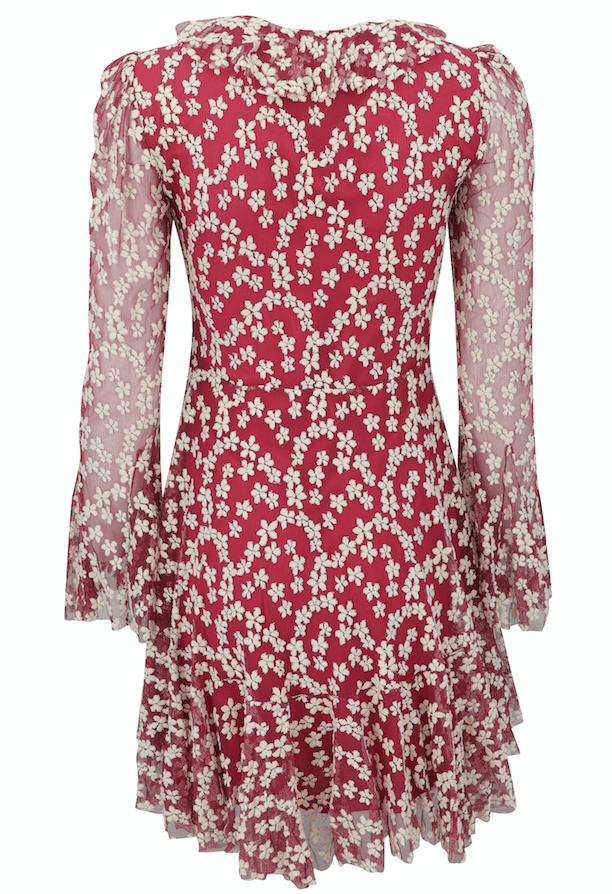 Philosophy Di Lorenzo Serafini Embroidered Floral Dress