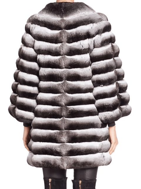 Steven Dann Chinchilla Fur Jacket
