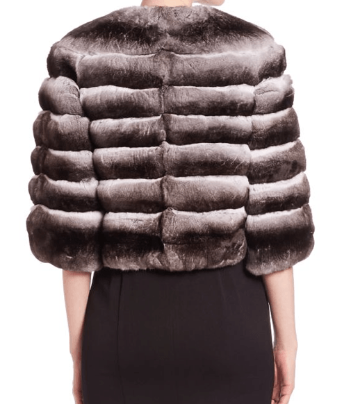 Steven Dann Chinchilla Fur Bolero