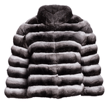 Steven Dann Chinchilla Fur Puffer Jacket