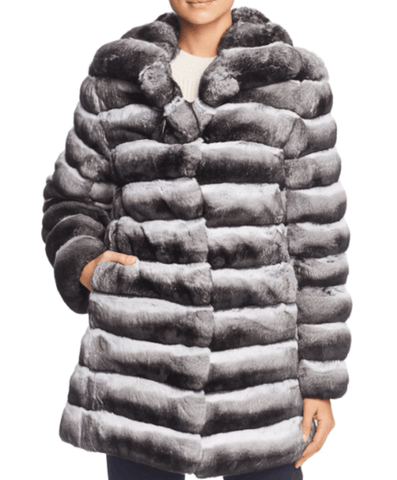 Steven Dann - Steven Dann Chinchilla Fur Coat - Buy Online