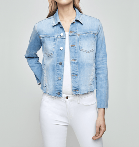 L'Agence - L'Agence Island City Embellished Jacket - Buy Online