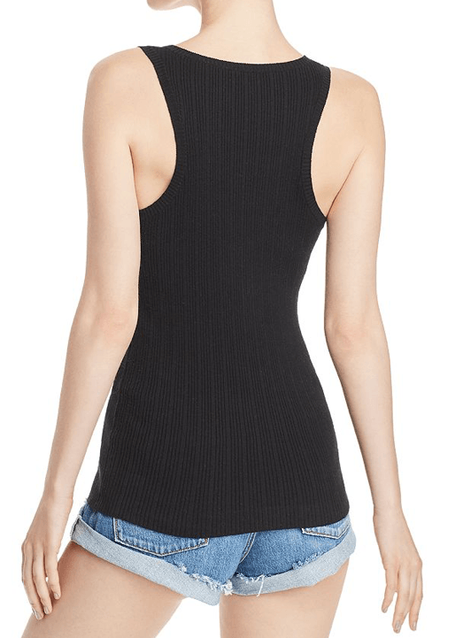 Minnie Rose - Minnie Rose Rib-Knit Racerback Tank - Buy Online