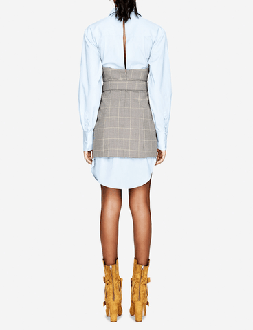 Jonathan Simkhai - Jonathan Simkhai Glen Plaid Belted Dress - Buy Online