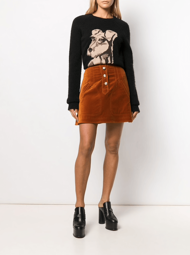 Derek Lam 10 Crosby - Derek Lam 10 Crosby A-Line Mini Skirt - Buy Online