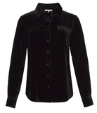 Gold Hawk - Gold Hawk Velvet Long Sleeve Shirt - Buy Online