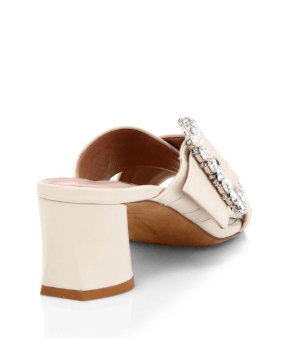 Tabitha Simmons - Tabitha Simmons Selena Crystal-Embellished Mules - Buy Online