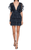 Alberta Ferretti - Alberta Ferretti Ruffled Tulle Mini Dress - Buy Online