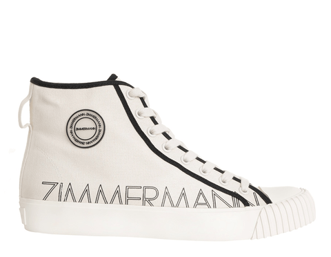 Zimmermann - Zimmerman Printed Canvas Sneakers - Buy Online