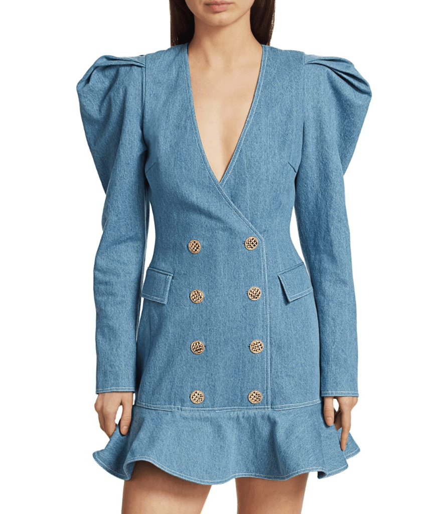 Ronny Kobo - Ronny Kobo Carla Denim Blazer Dress - Buy Online