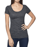 MRANDMRSDANN - MRANDMRSDANN Tri-Blend Scoop Neck Tee - Buy Online