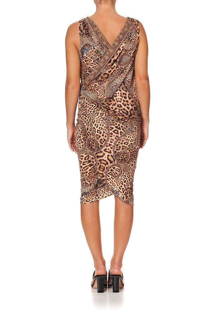 Camilla Jersey Draped Dress