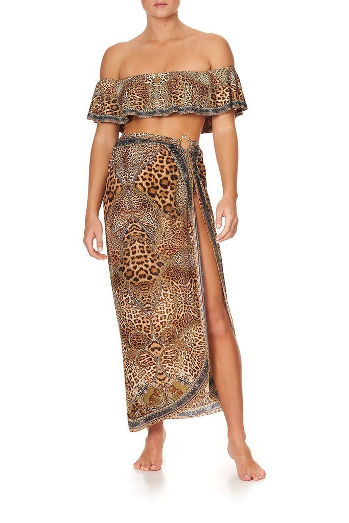 Camilla Ring Trim Long Sarong