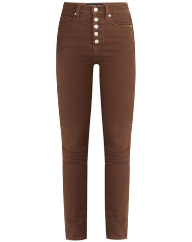 Veronica Beard Maera High-Rise Skinny Jeans