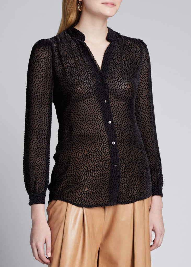 L'Agence - L'Agence Florent Long Sleeve Blouse - Buy Online