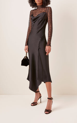 Jonathan Simkhai Lace Overlay Dress