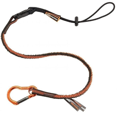 Squids® 3102F(x) Detachable Single Carabiner Tool Lanyard - 5lbs