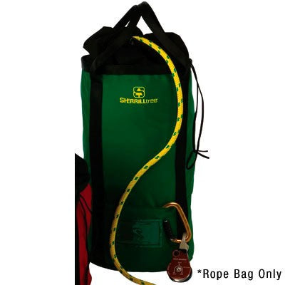 LARGE ROPE BAG GREEN