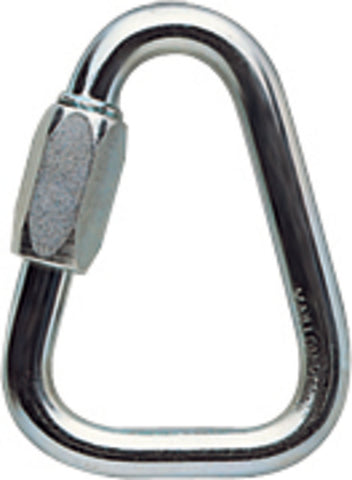 DELTA 10mm screw link, triangle, steel