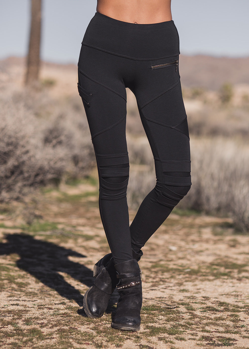 Apocalpse Legging- Black (Bamboo & Organic Cotton)