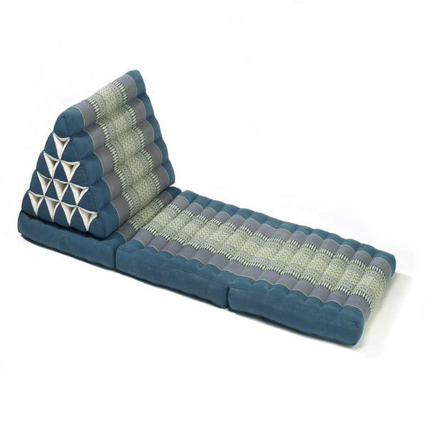Thai Triangle Yoga & Relaxation Lounger - Aqua
