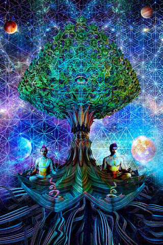 Third Eye Tapestry Quot Balance Quot By Dima Yastronaut Live