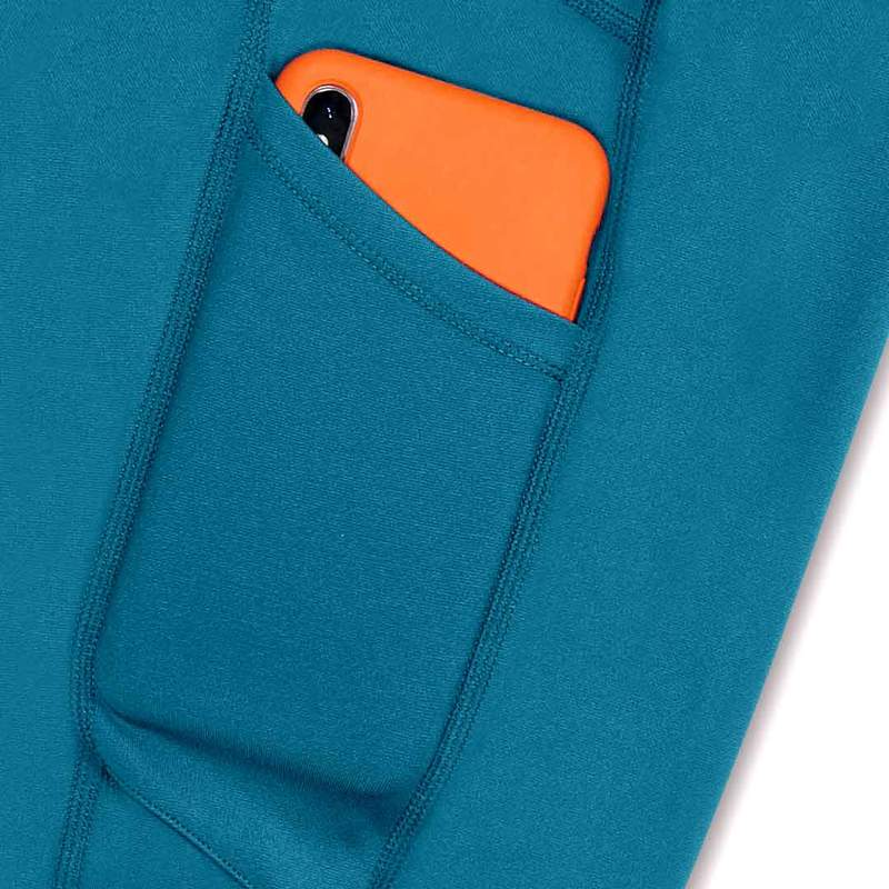 Wi-Thi Pocket Capri- Teal