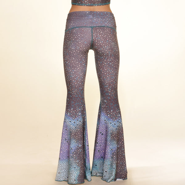Teeki Bell Bottoms- Mermaid Fairyqueen Teal
