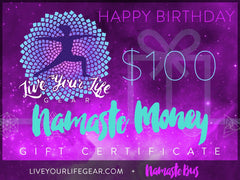 "Gift Card - ""Happy Birthday""  $25, $50 or $100"