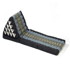 Thai Triangle Yoga & Relaxation Lounger - Blue & Black