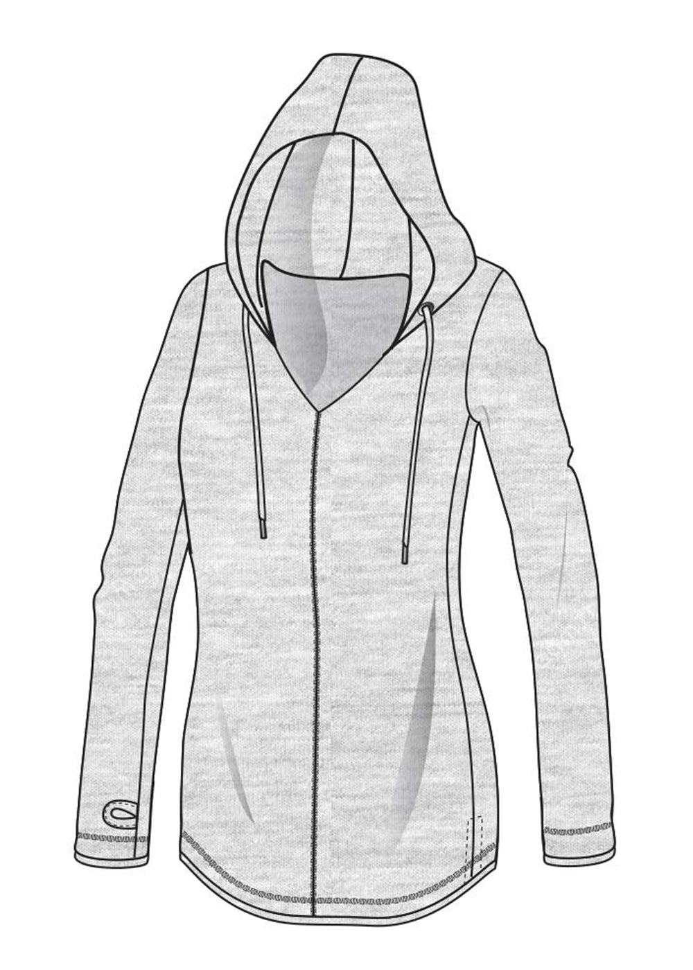 Diversity Hoodie- Various colors (Bamboo/Organic Cotton)