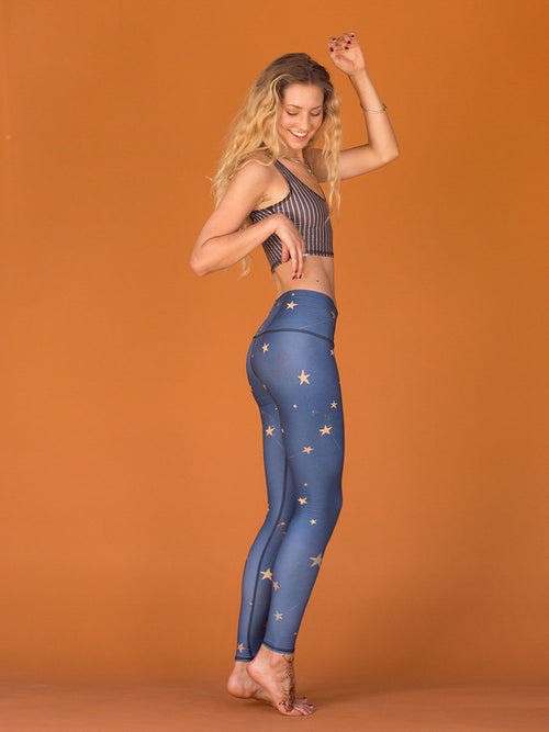 Hot Pant- Great Star Nation Navy