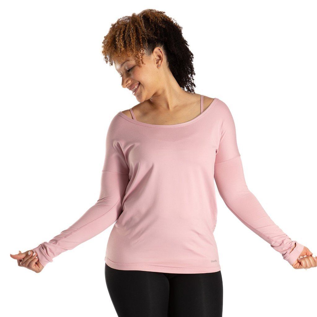 Handful Peek A Breeze Long Sleeve- Mauvelous Mauvy Pink