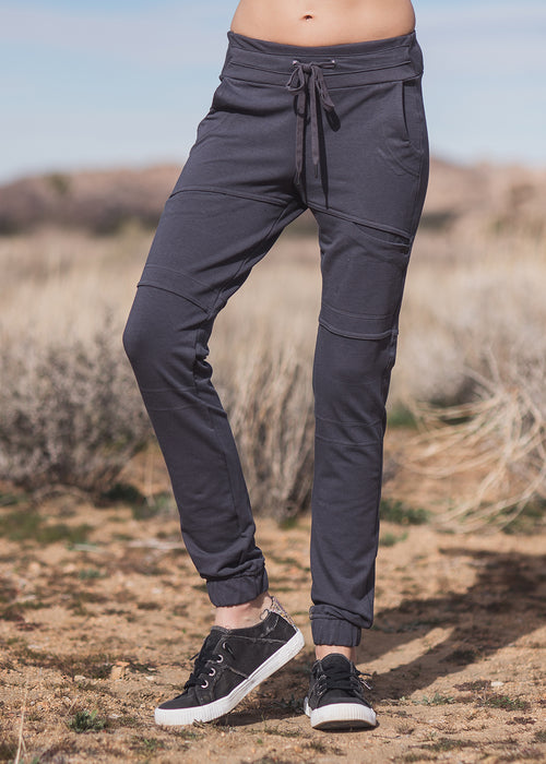Impulse Jogger- Black (Bamboo & Organic Cotton)