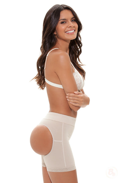 Double-O® STRONG Mid-Thigh Brief - PaddedPanties.com  - 1
