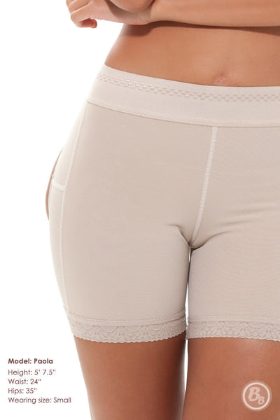 Double-O® STRONG Mid-Thigh Brief - PaddedPanties.com  - 3