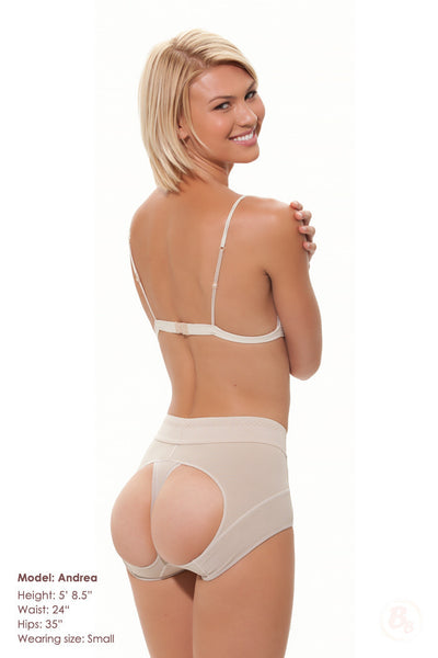 Double-O® Powernet Lowrise Panty STRONG - PaddedPanties.com  - 4