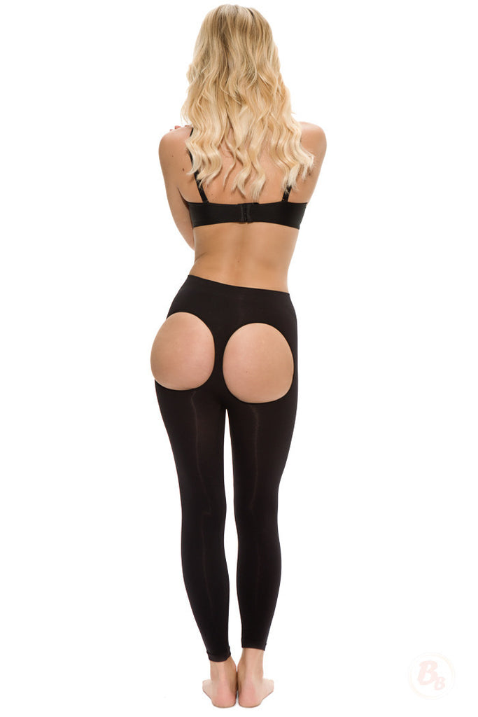 8380ade6e Double-O® Seamless Booty-Lift Leggings - PaddedPanties.com - ...
