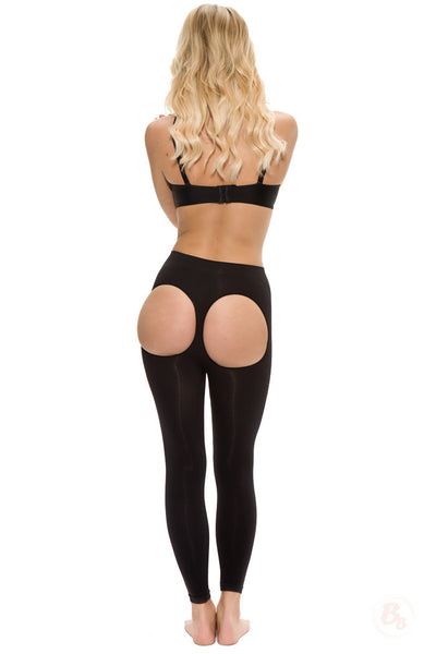 Double-O® Seamless Booty-Lift Leggings - PaddedPanties.com  - 1