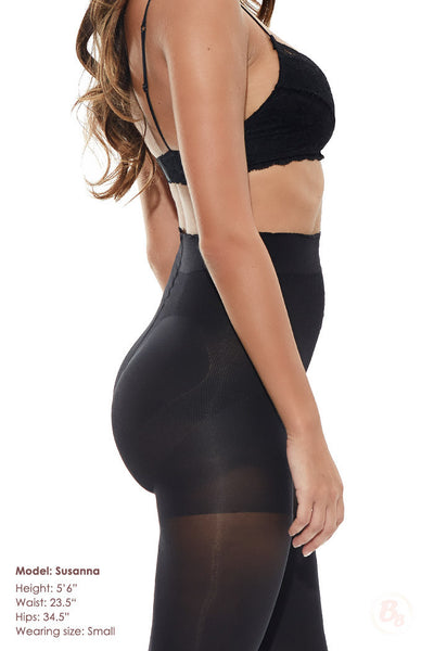 Bella Bottom Shaping Tights - PaddedPanties.com  - 2
