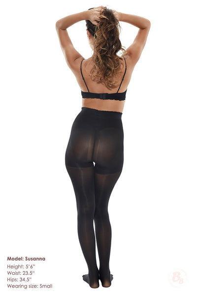 Bella Bottom Shaping Tights - PaddedPanties.com  - 3