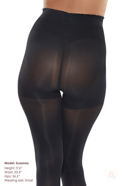 Bella Bottom Shaping Tights - PaddedPanties.com  - 4