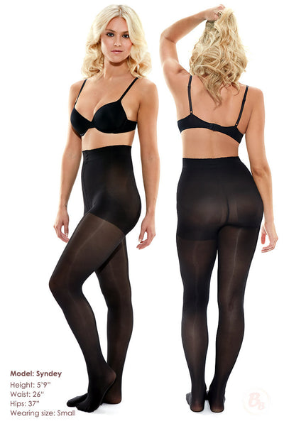 Bella Bottom Shaping Tights - PaddedPanties.com  - 7