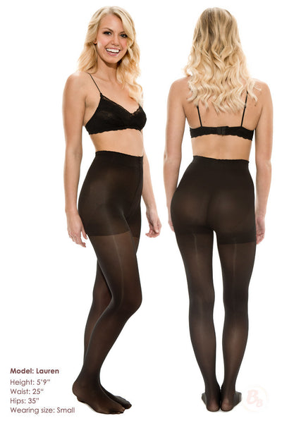 Bella Bottom Shaping Tights - PaddedPanties.com  - 6