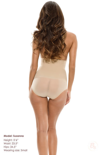 Stretch & Perfect™ Strong Control Bodysuit - PaddedPanties.com  - 5